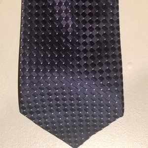 Men's tie navy blue by Donald J Trump